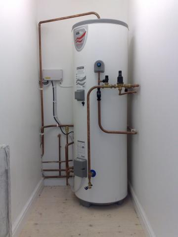 Dean evans plumbing heating your friendly local plumber new megaflo systemfit un vented hot water cylinder cheapraybanclubmaster Gallery
